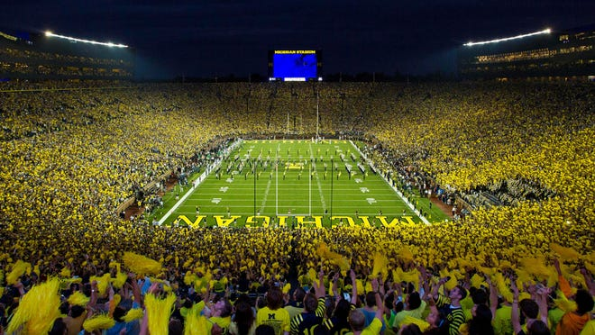 There is nothing like the Big House on game day.