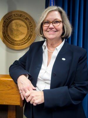 U.S. Attorney Nancy Harr on Wednesday, Nov. 9, 2016.
