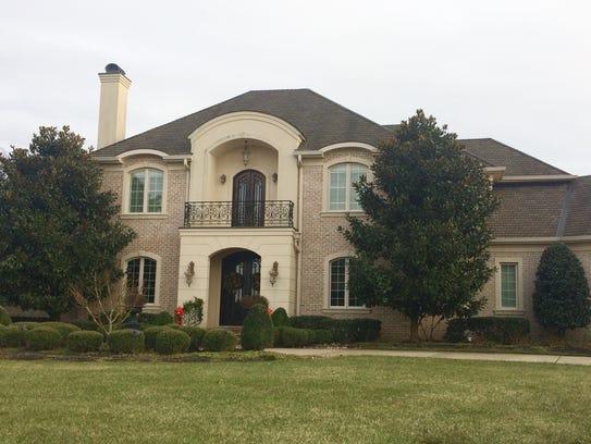 The home at 1466 Avellino Circle, Murfreesboro, sold