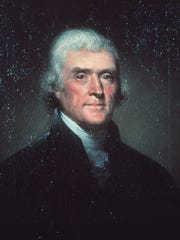 Thomas Jefferson freed only a few of his enslaved servants at his home, Monticello, and the rest were sold after his death.