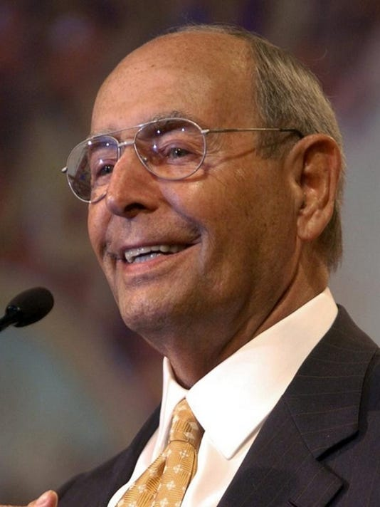 Richard DeVos of Grand Rapids, Mich. is shown in a 2005 file photo.