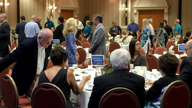 About 150 Chamber members turned out to hear the State of the Chamber presentation Wednesday at the Hilton Naples.