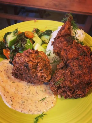 Buttermilk Fried Rabbit.