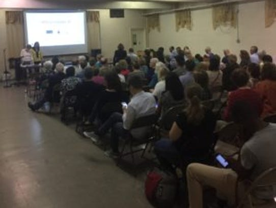 More than 100 residents attended an Oct. 10 Hartstdale