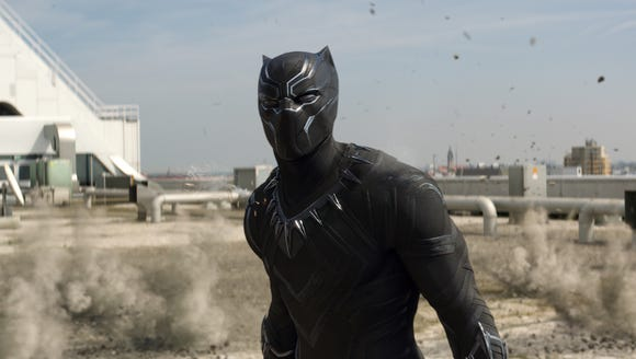 Black Panther (Chadwick Boseman) is the coolest, whether