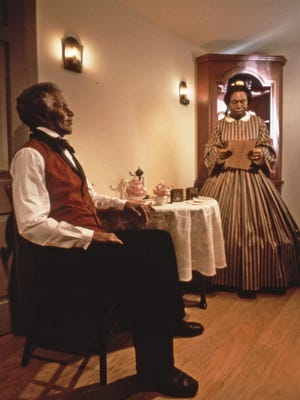 The Watson house in the Streets of Old Milwaukee depicts the lives of Sully and Susanna Watson.