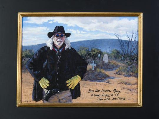 "Kathy Falla Howard, Scottsdale, created her work, ""No"