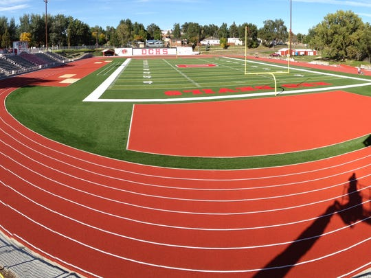 Glendive's new track and football field are among the best in Montana, according to track coach Tom Temple.