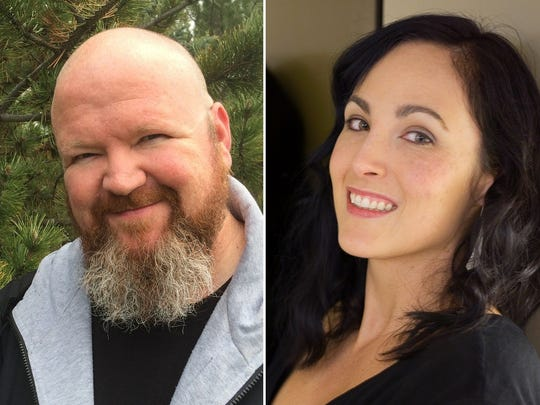 Kevin Hearne and Delilah Dawson sign NO COUNTRY FOR OLD GNOMES @ The Poisoned Pen Bookstore