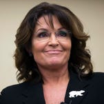 Sarah Palin stands in solidarity with Curt Schilling.