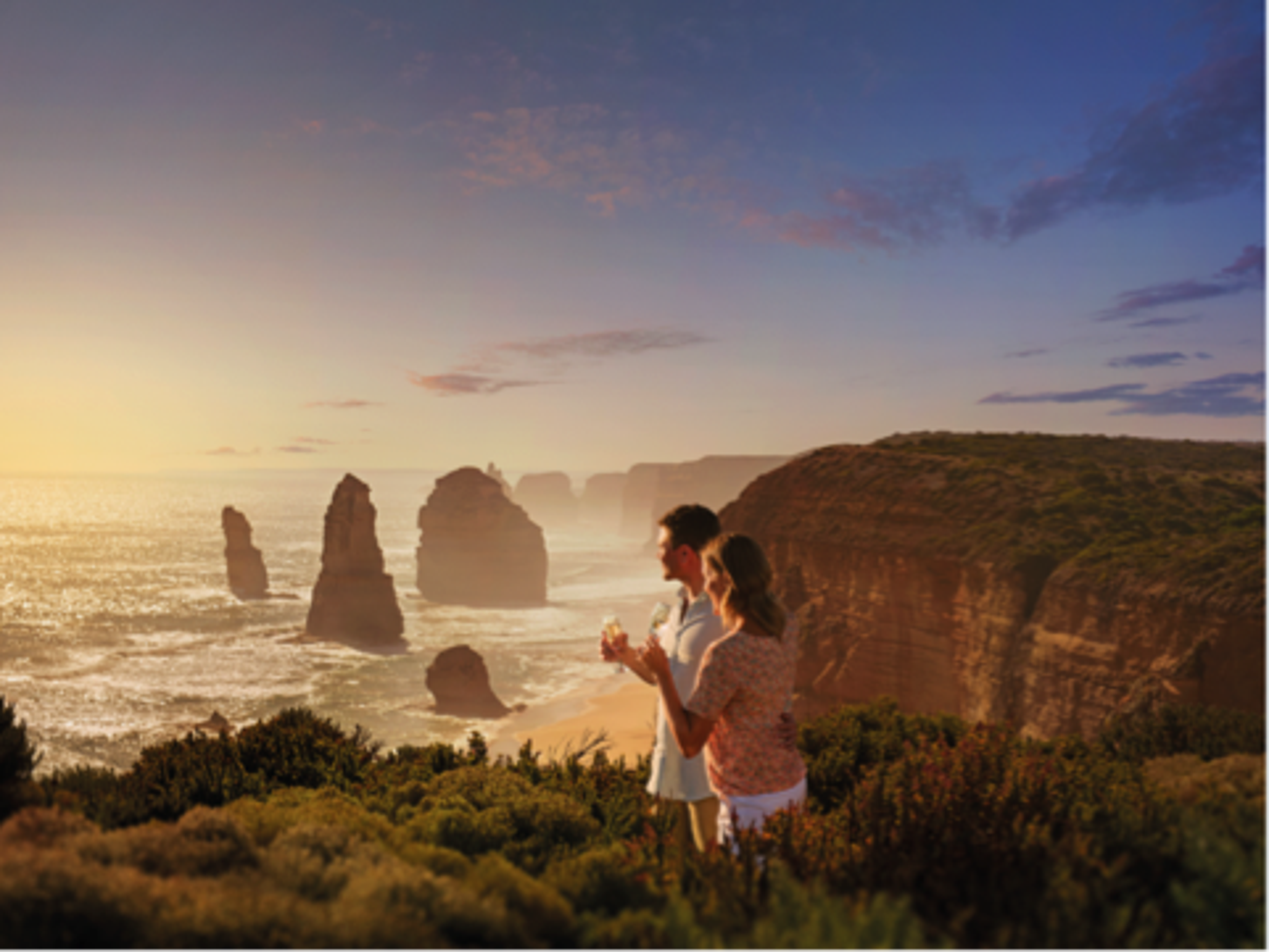 Take a drive on Great Ocean Road and visit The Twelve