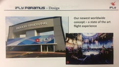 A handout of a presentation by iFly Indoor Skydiving