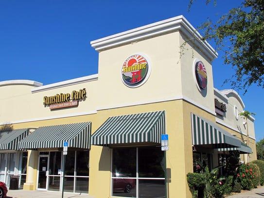 Sunshine Café recently opened in Prado at Spring Creek