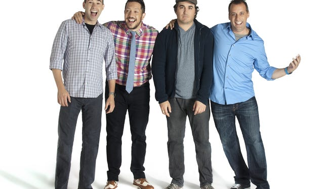 The Impractical Jokers bring their hit improv comedy formula to Camden Saturday, Dec. 19.
