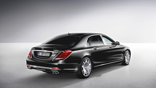 Mercedes has created a stretched version of the S Class, the Mercedes Maybach S600.
