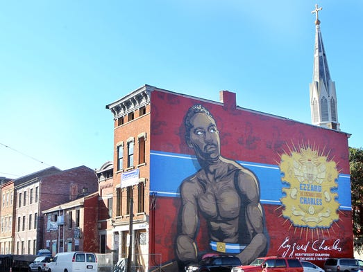 Check out cincinnati 39 s new murals for Chuck brown mural