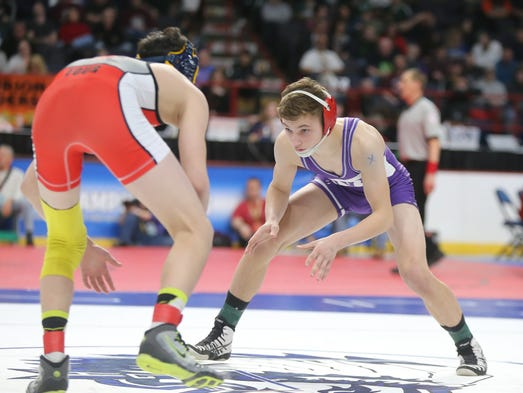 Wrestling: Penfield's Frankie Gissendanner wins 4th NY ...