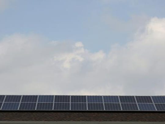 The Norwalk-based company Red Lion Renewables installed solar panels on the roof of the St. John the Apostle Catholic Church in Norwalk. Red Lion CEO Terry Dvorak is a parishioner at the church.