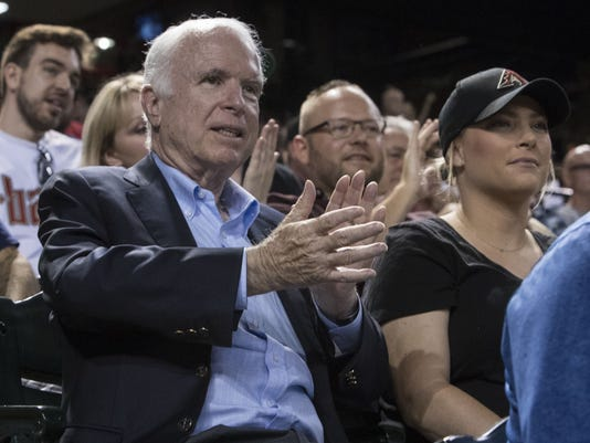 Meghan McCain on her dad, U.S. Sen. John McCain: 'I'm scared of America without him'