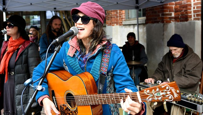 The Wild Hymns perform during Oyster Festival Heritage Celebration at the Agricultural & Industrial Museum in York City, Pa. on Sunday, Oct. 18, 2015. Dawn J. Sagert - dsagert@yorkdispatch.com