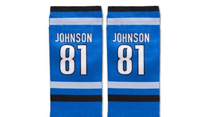 Calvin Johnson socks