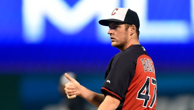 Trevor Bauer, who started his career with the Arizona Diamondbacks, is one of several players and coaches with ties to Arizona.