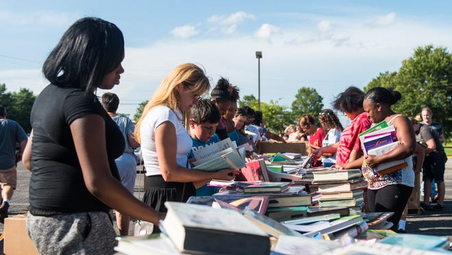 The third annual Vineland Public Schools book giveaway will be held 4 to 7 p.m. Aug. 2 in the district's warehouse parking lot, 1350 S. West Blvd. Vineland.