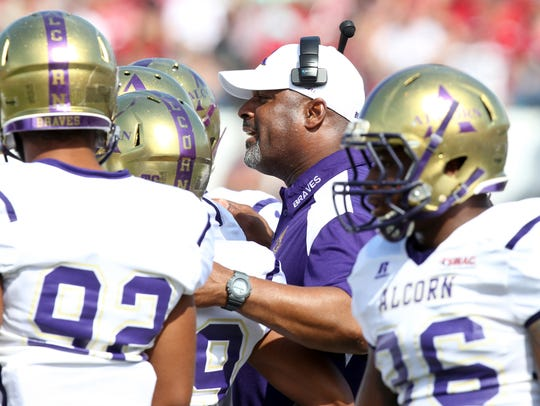 Alcorn State football coach Fred McNair has hired a