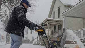 Snow is expected to change over to rain later today