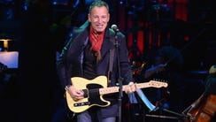 Bruce Springsteen treated the  outgoing White House