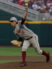 Florida State starter Tyler Holton struck out eight while surrendering three earned runs in 7 1/3 innings pitched on Saturday evening.