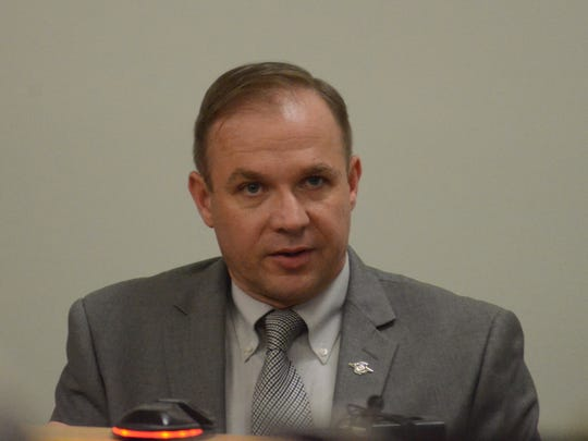 Michigan State Police Detective Sgt. Todd Petersen