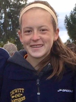 Hannah Adler, DeWitt cross country