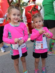 Novalee and Annalise Morales, Tot Trot competitors