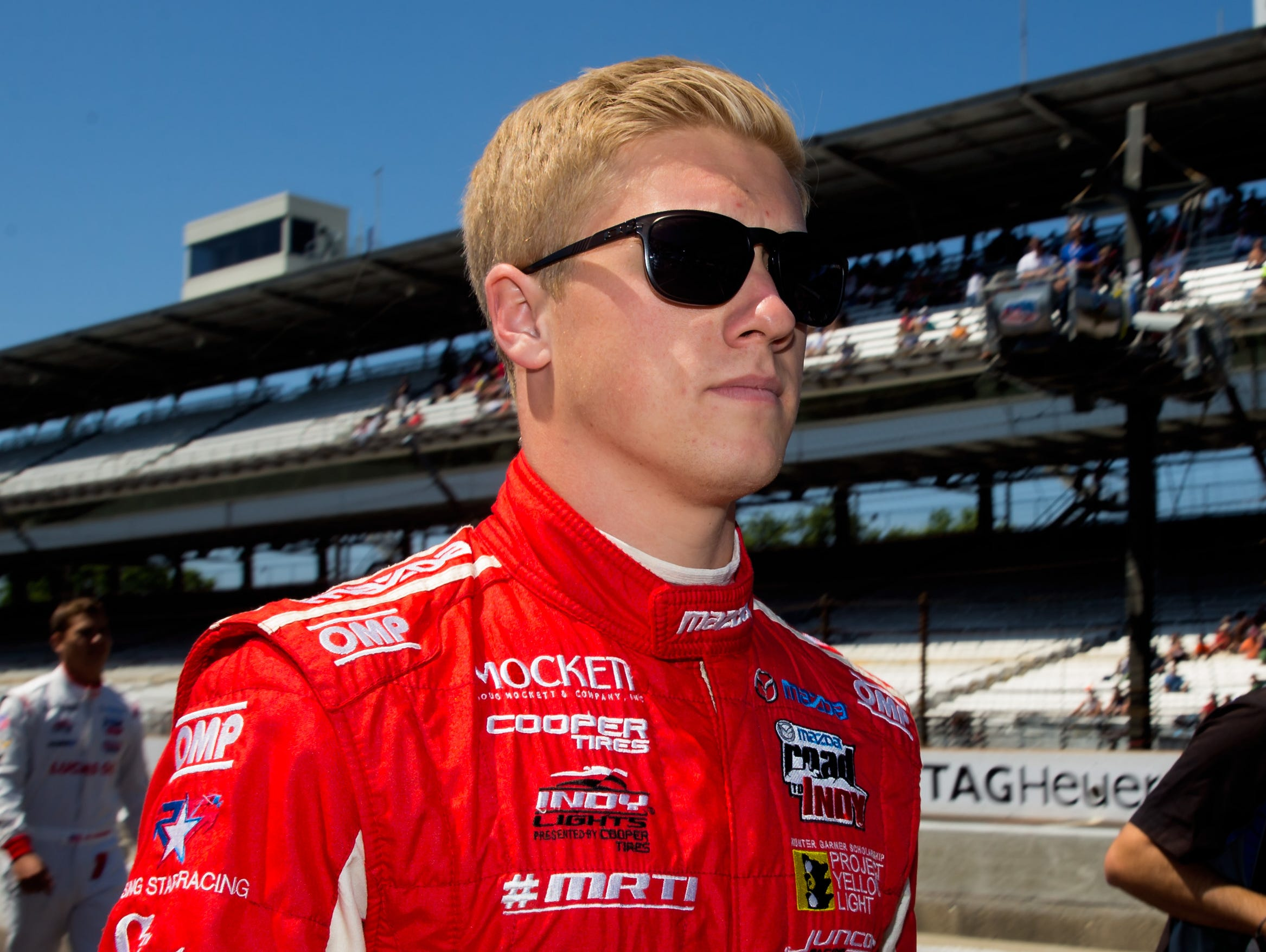 Indy Lights driver Spencer Pigot will get to show what he's got in the Big Show.