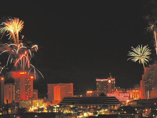 A fireworks show in downtown Reno will be part of the entertainment options on New Year's Eve.