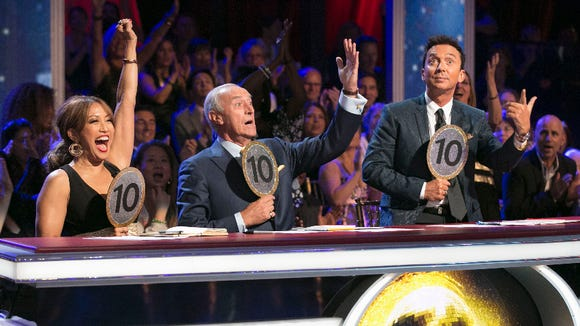 "We got the first perfect scores of the season on Monday night's ""DWTS."""