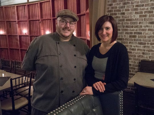Executive Chef Adam Galloway and owner Kristin Jonna