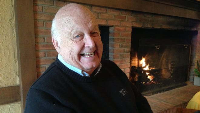 Bill Renz of Sharonville reminisces about his father coming home from war at Christmas 1945.