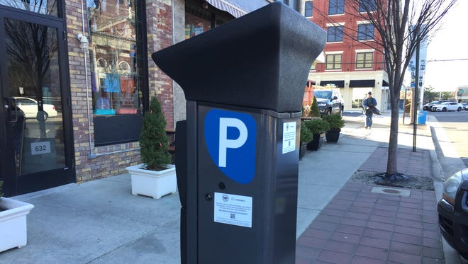 Asbury Park is debuting new parking machines on Mattison Avenue as it evaluates its parking system.