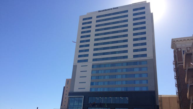 Luhrs City Center Marriott, now open at Central Avenue and Monroe Street. The dual-brand hotel includes a Residence Inn by Marriott and Courtyard by Marriott.