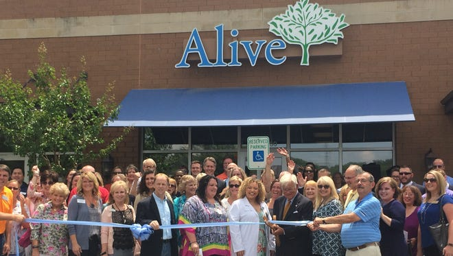 Alive Hospice celebrated the grand opening of its Hendersonville office Friday, July 14.