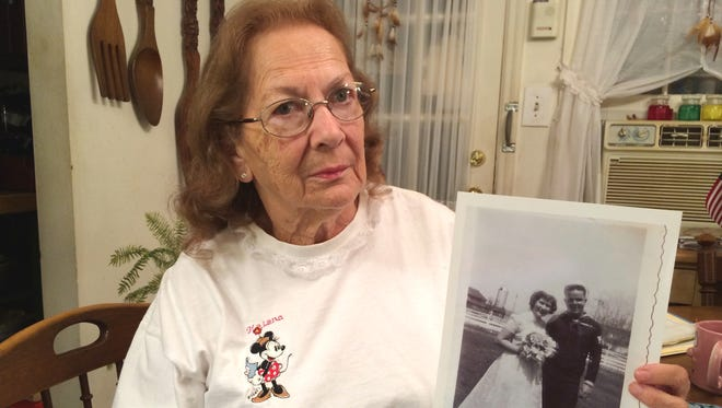 Helena Perry of Avondale, Pa., continues to receive bills and correspondence for her late husband's Veterans Affairs medical care.