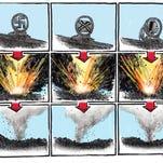 Benson cartoons, July to September 2015