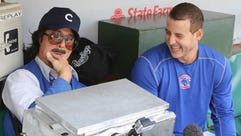 This is Steven Colbert. Seriously. (And Cubs star Anthony