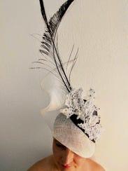 Designer Gwendolyn Gleason creates custom derby hats