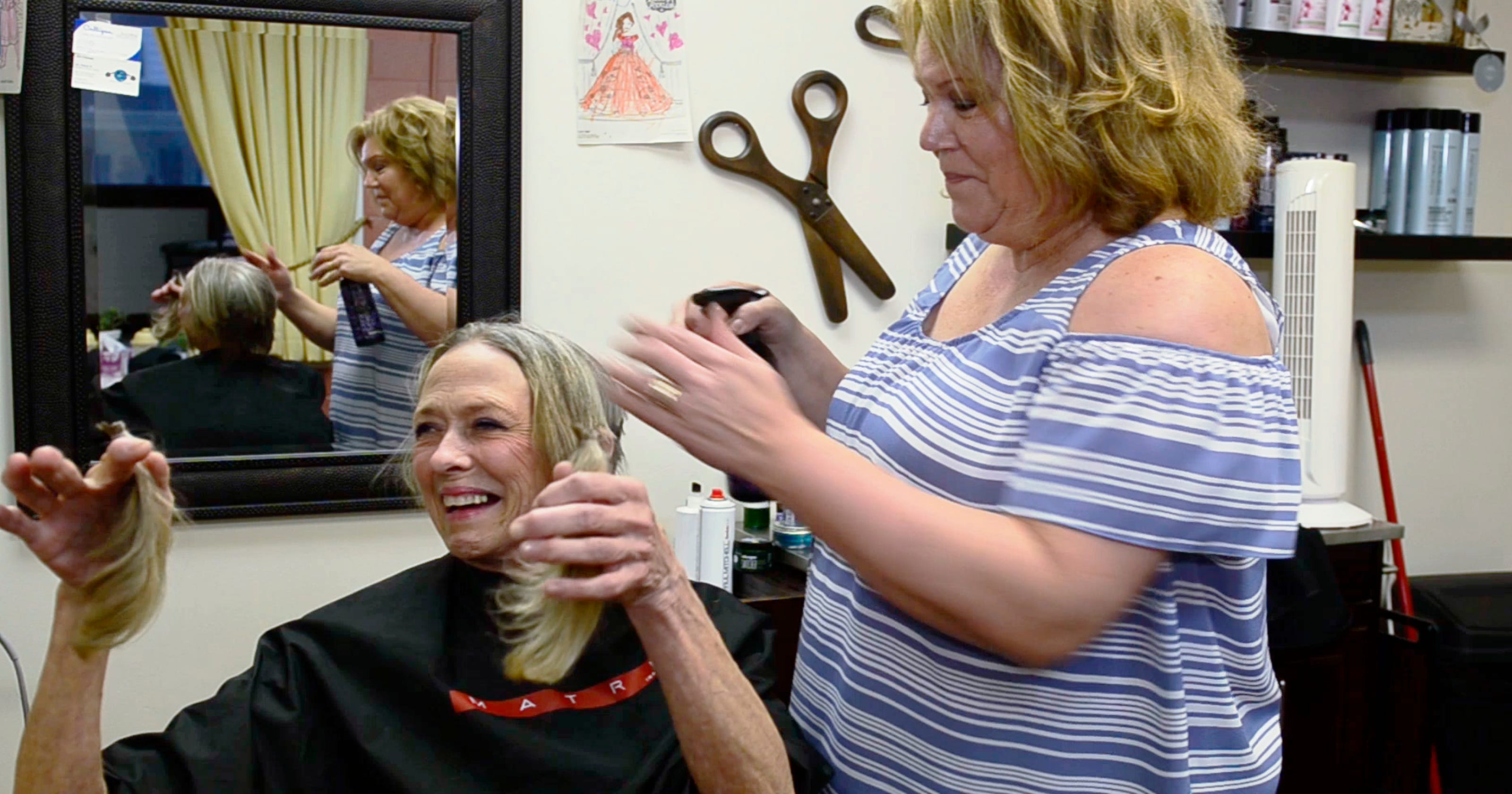 Haircut Helps Tucker Take Charge Of Cancer