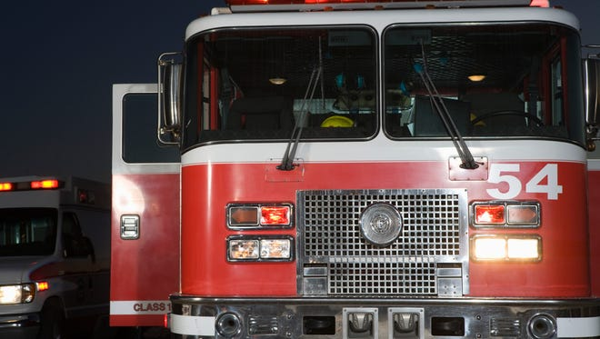 A Cottage Grove-area fire chief says firefighters did not respond to a rural house fire because it was outside the department's jurisdiction
