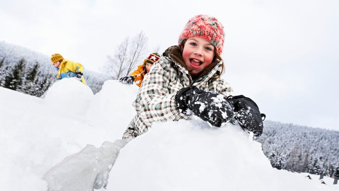 Although the winter can get long, as elementary kids, the sight of winter snow is welcomed with excitement and energy. With proper planning and gear, the winter months can be a fun and rewarding time. Take your kids sledding, snowshoeing or cross country skiing.