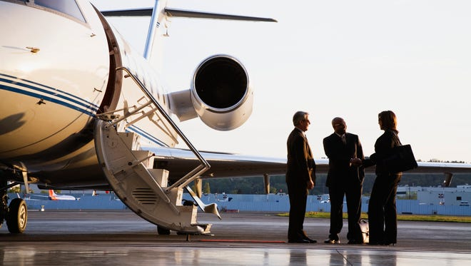 Private jets have the ability to land at many more airports than commercial aircraft and to change flight plans very quickly.
